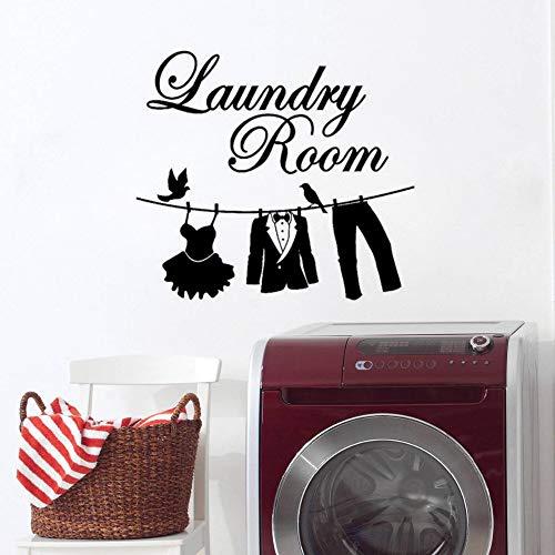 Geiqianjiumai Kleidung Tuch Kleid Höschen Design Wohnzimmer Logo Wand Wandaufkleber 63 cm x 57 cm