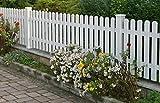 RAVELLO Gartenzaun Zaun aus Aluminium, für Garten und Haus, aus Aluminium, Zäune, mit lebenslanger Garantie