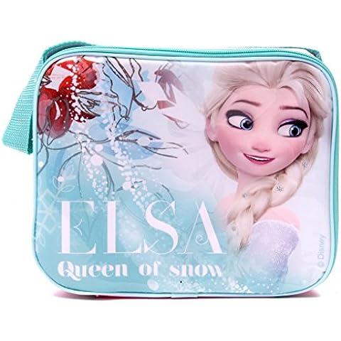 IMTD ufficiale Frozen, Disney, Elsa, Lunch Bag Borsa termica da Picnic Insulatd per la scuola, vacanze - Dora Lunch Bag