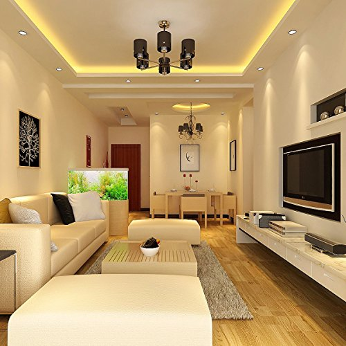 led einbaustrahler ascher 10er pack 5w warmwei e flach led einbaustrahler ac 220 240v 420lm. Black Bedroom Furniture Sets. Home Design Ideas