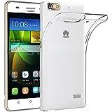 Huawei G Play Mini Funda, AICEK Ultra Transparente Huawei G Play Mini Carcasa Funda Suave Flexible Extremadamente Delgada piel Resistente a los Arañazos silicona TPU protectora para G Play Mini/Honor 4C
