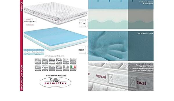 Materassi Permaflex Memory Piuma.Permaflex Nutrice 120 Materasso Memory Piuma 3 Strati 120x190