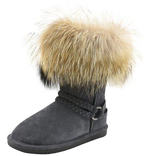 Oasap - Pantofole a Stivaletto donna Grey