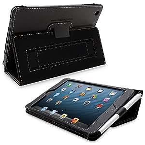TheSnugg B0092PZZLS Tablet-Schutzhülle - Tablet-Schutzhüllen (Folio, Schwarz, PU Leder, Apple, iPad mini, Staubresistent, Kratzresistent)
