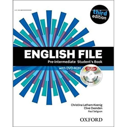 English File : Pre-intermediate Student's book