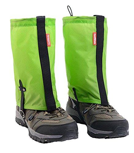 Wasserdicht Wandern / Klettern / Camping / Ski-Schuhe Gamaschen-M Grün