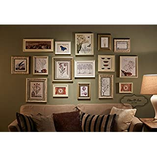 Alex & Son signature design, Large Photo Frame Set, Luxury wall decoration, Multi picture frame set (AS16 )