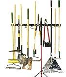verstellbar Storage System 121,9cm, Wandhaltern für Werkzeug, Wandhalterung Werkzeug Veranstalter, Garage Organizer, Garden Tool Organizer, Garage Aufbewahrung