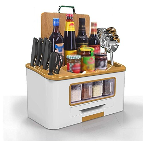 VIOY Regal Organizer Bins Regal Teiler für Schränke Lagerregal Aufbewahrungsbox Küche Geschirr Gewürzregale Gewürzdosen Lagerung Regale Werkzeug Board Regale Lieferungen,Gold (Möbel Lagerung Bin)