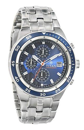 Titan Octane Analog Blue Dial Men's Watch - 9466KM04J image