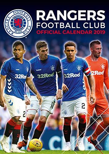 Glasgow Rangers FC  2020 Calendar - Official A3 Month to View Wall Calendar