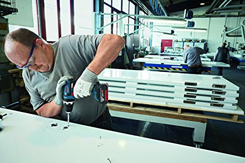Bosch Professional Akku-Schlagbohrschrauber GSB 18 V-EC mit 2 x 4,0 Ah Li-Ion, Schnellladegerät AL 1860 CV, L-BOXX, 1 Stück, 06019E9101 - 2