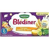 Blédina blédîner lait et poireaux pommes de terre dès 6 mois 2 x 25cl - ( Prix Unitaire ) - Envoi Rapide Et Soignée