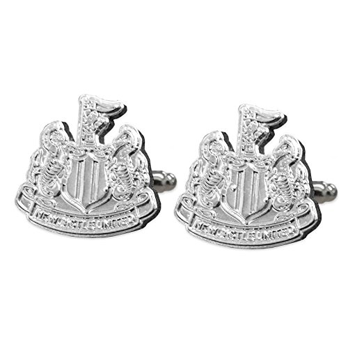 Newcastle United FC Official Football Gift Chrome Executive Cufflinks