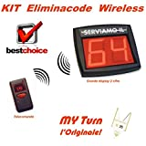 System löschcode kabellos radio Kit komplett Display zweistellig,