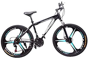 Roadmill Bicycle 21 Speed with Mag Wheel 26 inches (Black) Astrodon Black
