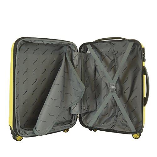 Packenger 501/24-003P-11 Koffer, 62 cm, 60 Liter, Lemon-Gelb -