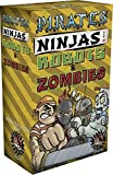Pirates, Ninjas, Robots, And Zombies!