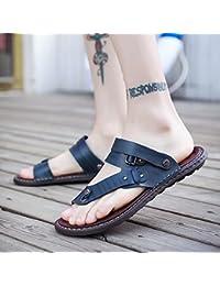fankou Caballeros Que Las Sandalias de los Deslizadores los Zapatos de los Hombres de Verano Zapatos de la Marea...