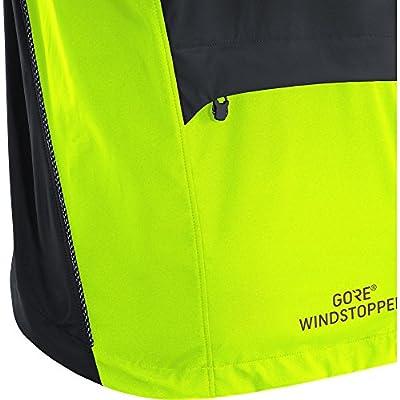 GORE BIKE WEAR 2 in 1 Herren Fahrradjacke, Super Leicht, Kompakt, GORE WINDSTOPPER, ELEMENT WS AS Zip-Off Jacket