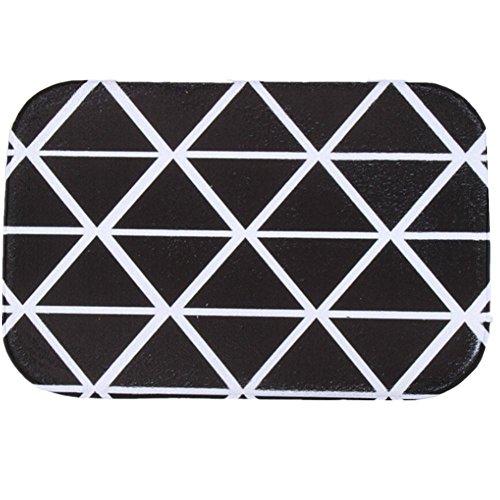 Oasis Green Area Rug (O-C Geometric triangle Outdoor Indoor Antiskid Absorbent Bedroom Livingroom Bath Mat Bathroom Shower Rugs Doormats)