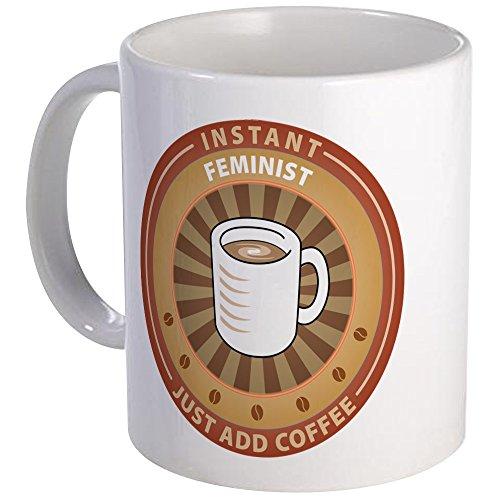 CafePress Instant feminista taza–taza de café única–ml, taza de café, taza de té, blanco, small