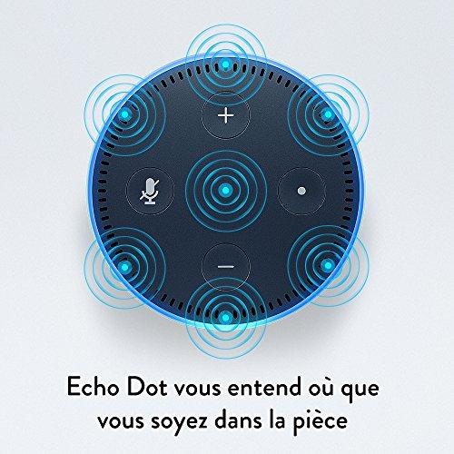 51ymTl5CrUL [Bon plan]  Amazon Echo Dot (2ème génération), Noir