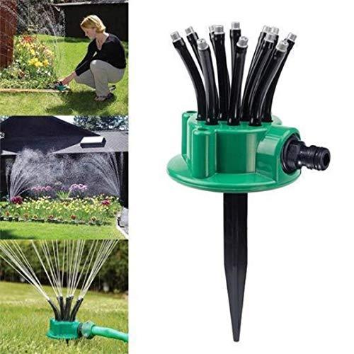 Percetey® 360 Grad Verstellbarer Rasensprenger Automatische Bewässerung Für Terrassen, Blumenbeeten, Innenhöfen usw. Einfache Handhabung Schnelle und einfache Installation 100% hochwertiges - Hochbeet-anschlüsse