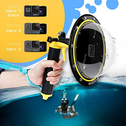 TELESIN Dome Port GoPro Kamera Zubehör, Unterwasser 6