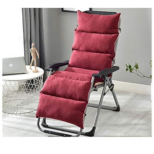 ZXY Gemütliche Lounge Stuhl Kissen Schaukelstuhl-pad, Anti-rutsch Beziehungen Quadratische Tatami Outdoor-Wicker Kissen Patio Stuhl pad-E 155x50x10cm(61x20x4inch)