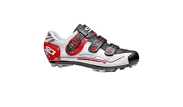 Sidi weiß schwarz rot 2018 Eagle 7 Fit MTB Schuh