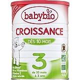 Babybio - Croissance, De 10 Mois À 3 Ans, En Poudre, Certifié AB - (Prix Par Unité ) - Produit Bio Agrée Par AB