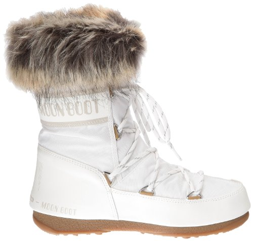 Moon Boot W.E. Monaco Low, Boots femme Blanc (Bianco)