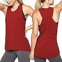 Damark(TM) Ropa Camiseta sin Mangas Tank Tops para Mujeres, Verano Sexy Deporte Casual Yoga Chaleco Blusa Tops Blusas Crop Tops Vest T Shirt Mujeres