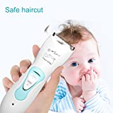 Haarschneider Baby Wasserdichte für Baby und Kinder,USB Wiederaufladbare Familie Haarschneidemaschine Set mit Schutzkamm