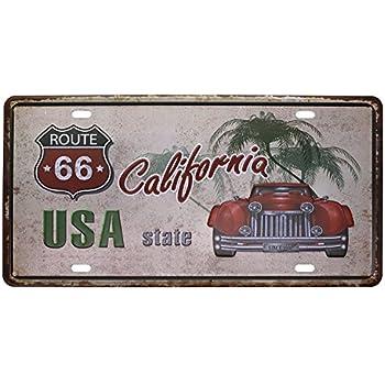 6x12 Eureya automatique de voiture de plaque dimmatriculation Tag Home//CAFE Bar//Pub//restaurant//salon D/écoration murale Poster vintage Art Plaque,Et 1889