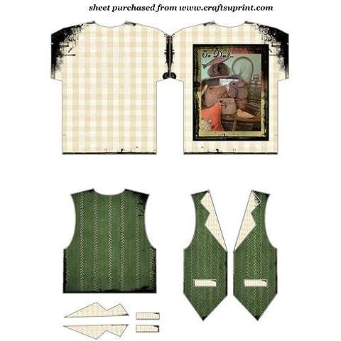 """""""dad"""", collezione Vintage e Gilet per pesca di Sharon Poore"""