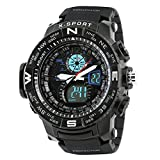 Best Digital Wristwatches - Time Warp Hi-Tech Revolution Analog Digital Multi Function Review