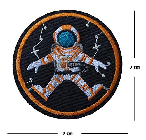 Astronauta bordado parche hierro coser bordado Diseño