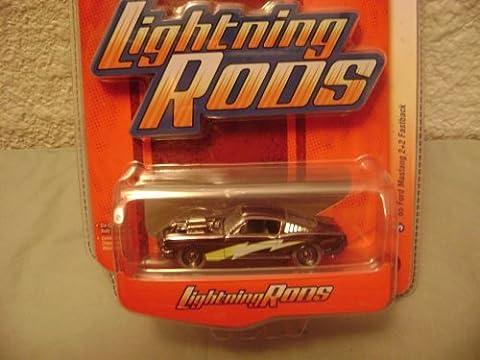 Johnny Lightning Lightning Rods R1 1965 Ford Mustang 2+2 Fastback by Johnny Lightning