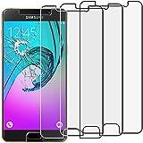 ebestStar - pour Samsung Galaxy A5 2016 A510F - Lot x3 Film protection écran en VERRE Trempé - Vitre protecteur anti casse, anti-rayure [Dimensions PRECISES de votre appareil : 144.8 x 71 x 7.3 mm, écran 5.2''] [Note Importante Lire Description]