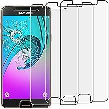 ebestStar - para Samsung Galaxy A5 2016 A510F [: 144.8 x 71 x 7.3 mm, pantalla 5.2''] - Lote x3 Vidrio Templado - Cristal protector contra rotura y rayas [Importante Leer descripción]