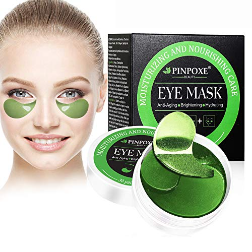 Maschera per gli occhi Eye Patch Maschera docchio del collagene Eye Mask Alghe occhi Pads Maschere Eye Gel Patches Idratante anti rughe anti età