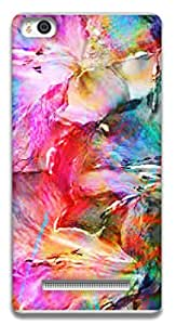 The Racoon Grip printed designer hard back mobile phone case cover for Xiaomi Mi4i. (Abstract)