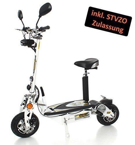 SXT Scooters 1000 XL EEC - Patinete eléctrico (40 km/h, con permiso...