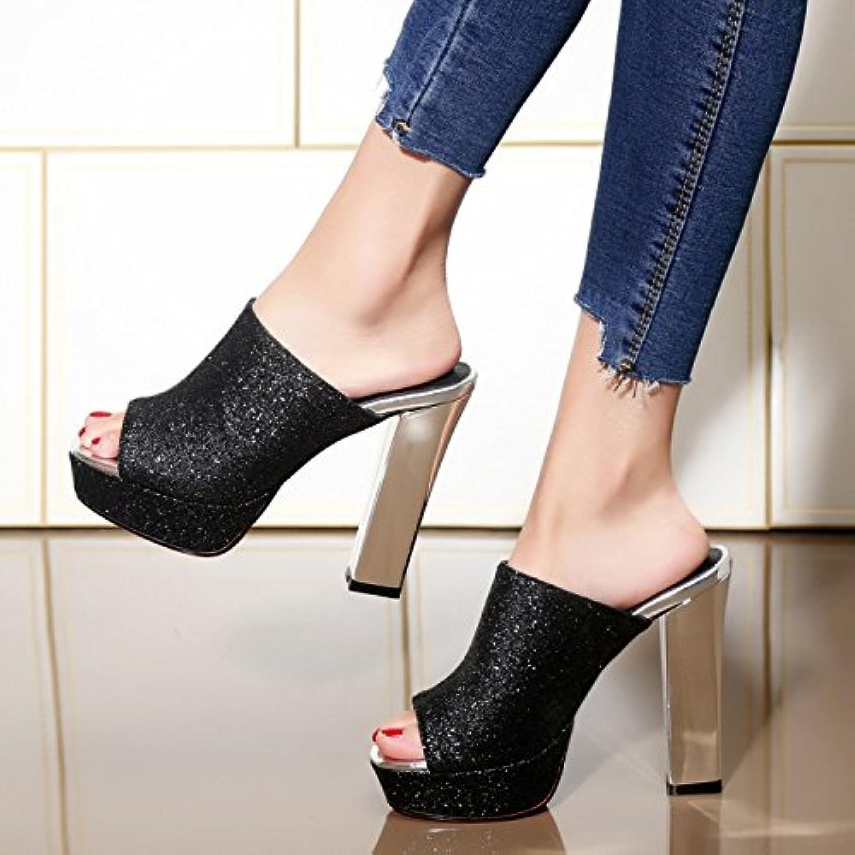 AWXJX donna donna donna flip flops Awxjx estate sandali da spessore base con tacco alto spessore impermeabile con, donna... | Nuovo Arrivo  | Gentiluomo/Signora Scarpa  287f08