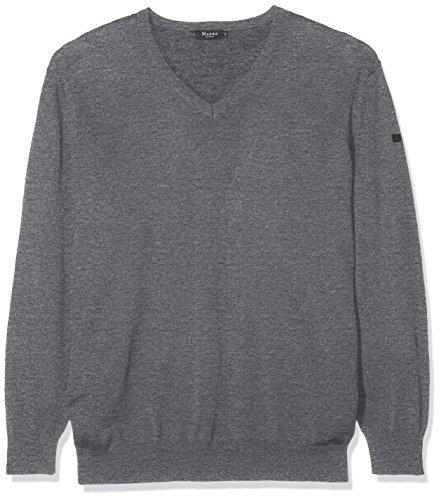 MÄRZ - 490400, Maglia da uomo Grigio (Mixed Grey 549)