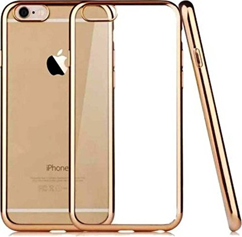 Indian Handicraft Luxury Gold Plating Origin TPU Soft Silicon Back Case Cover for Apple iPhone 5/5s - (Golden Edges)…  available at amazon for Rs.99