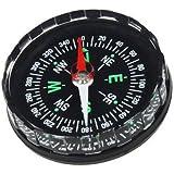 Generisches Minitaschen Überlebens Flüssigkeit gefüllt Knopf Kompass für Wandern Camping Freien