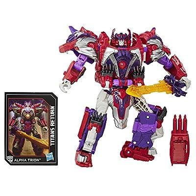 Transformers Generationen Titans Return Autobot Sovereign und Alpha Trion von Hasbro